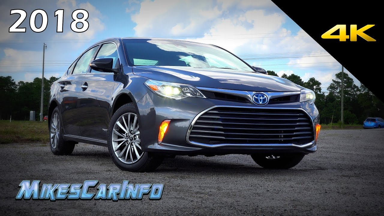 2018 Toyota Avalon Hybrid Limited Ultimate In Depth Look 4k