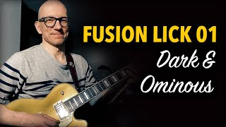 Fusion Lick 01 - Dark and Ominous...