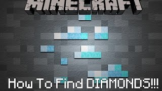 How To Find Diamonds In Minecraft (Xbox one or PS4)