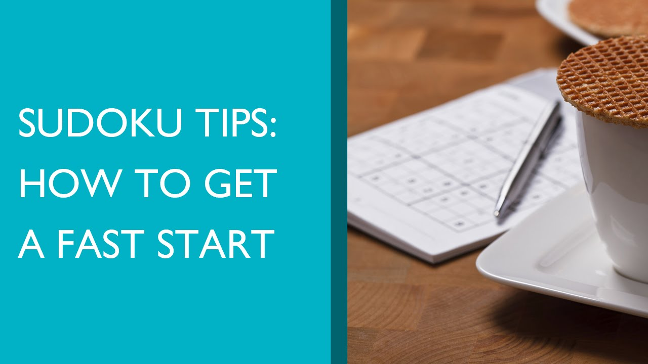 how to play sudoku tips and tricks