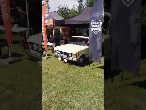 Przejażdżka Fiatem 125p 1988 rok