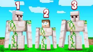 Which IRON GOLEM Is FAKE? (Minecraft Guess Who)