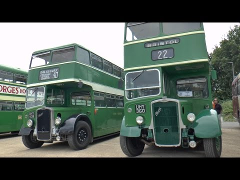 Vintage Bus Rally, Bristol 09-08-15