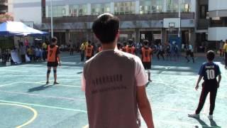 28112015全港閃避球錦標賽 男子初中組 培聖(橙)vs