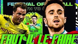 FIFA 21 : SBC (DIOGO JOTA) FESTIVAL OF FUTBALL & (MARIO GOTZE) PLAYER MOMENTS   FAUT IL LE FAIRE ?!