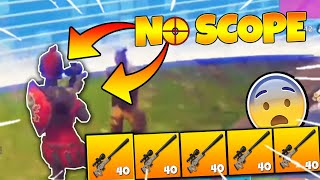 THE NO-SCOPE78 - FORTNITE ( Bot dislike by Slash Kun 😥 )