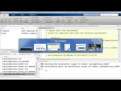Simulating and Optimising Mining Operations with Simulink