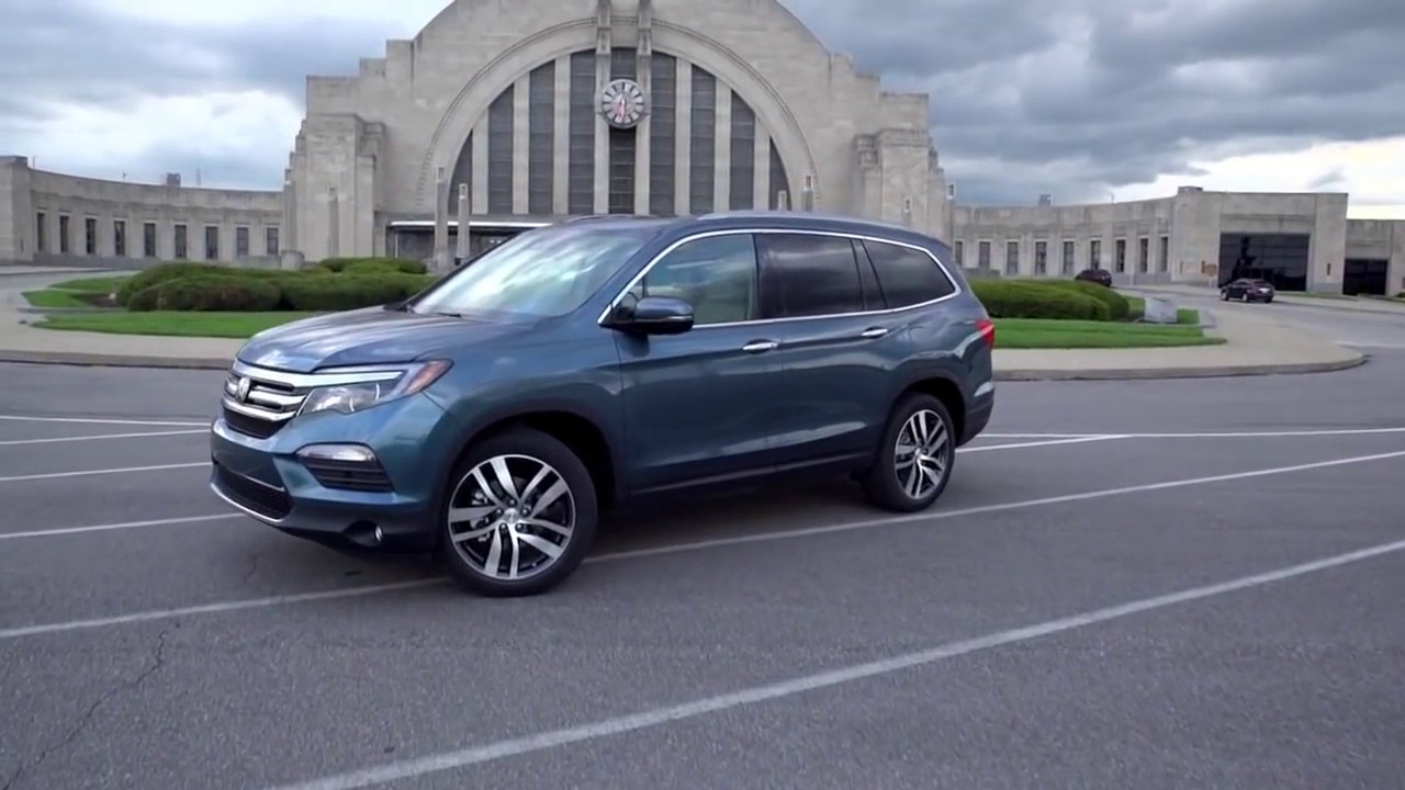 2017 Honda Pilot Available Now With Apple CarPlay & Android Auto ...