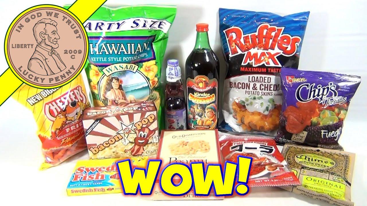 Candy & Snack Food Tasting: Swedish Fish, Soda Candy ...