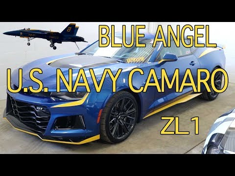 2017 Camaro ZL1 Blue Angel Design