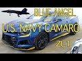 2017 Camaro ZL1 Blue Angel Design