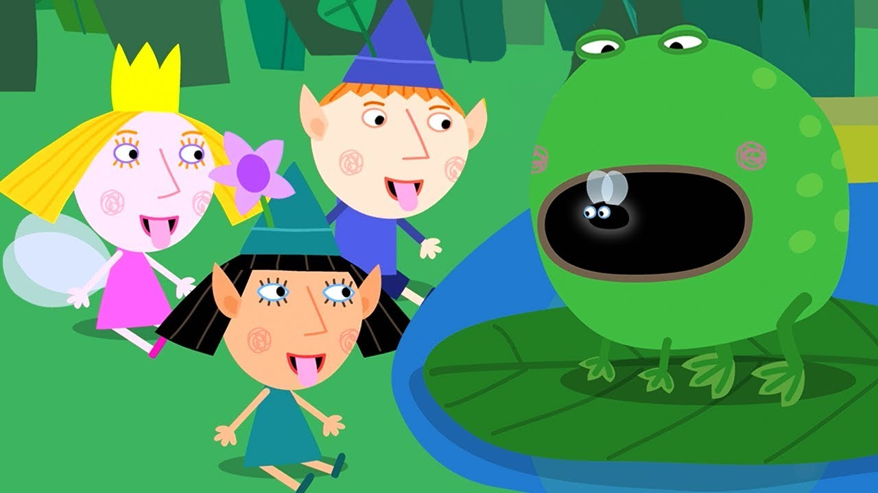 ben-and-holly-s-little-kingdom-nature-class-frogs-and-flies-1hour-hd-cartoons-for-kids