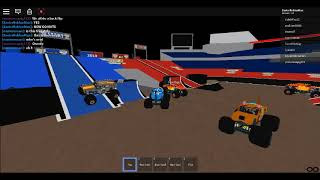 ROBLOX Monster Jam World Finals XX Freestyle Encore 2: Fire And Ice Encore