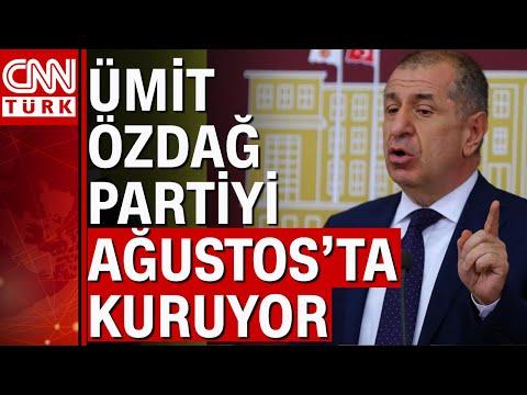 Ümit Özdağ'ın partisinin ismi ve logosu belirlendi