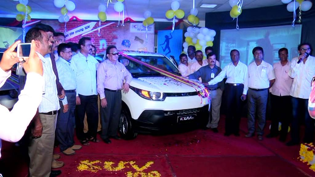 Kuv Grand Launching In Tirupati Mahindra Showroom Youtube
