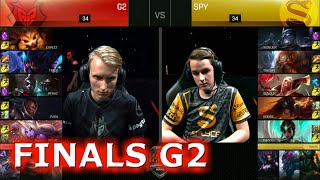 Splyce vs G2 eSports | Game 2 Grand Finals S6 EU LCS Summer 2016 PlayOffs | SPY vs G2 G2 Final