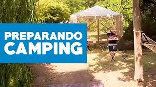 ¿Cómo preparar el lugar del camping?