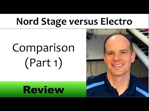 Nord Stage 3 versus Nord Electro 5D Comparison and Review