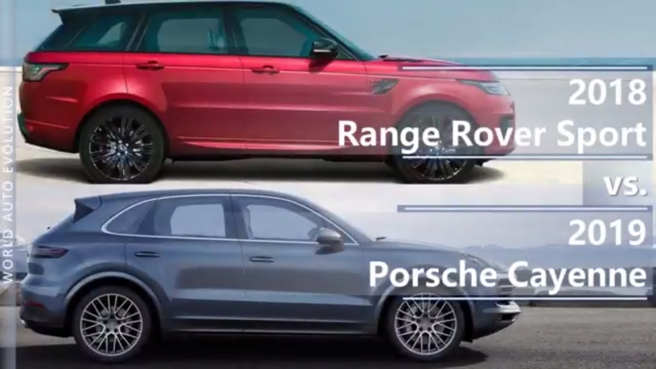 2018 Range Rover Sport Vs 2019 Porsche Cayenne Technical Comparison