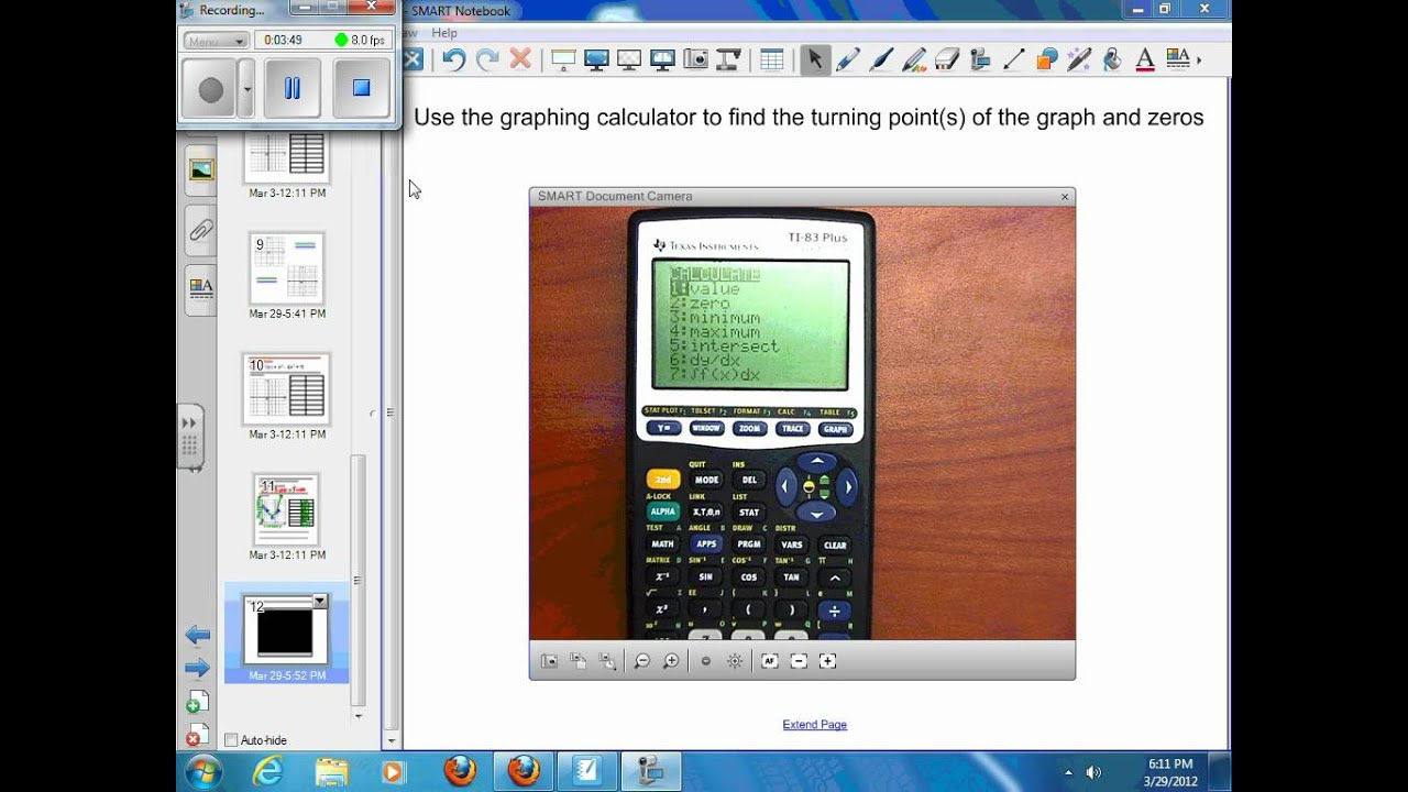 7 2 Graphing Polynomial Functions