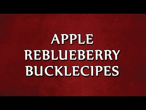 Blueberry Buckle | LEARN RECIPES | EASY TO LEARN