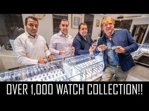 INSANE 1,000+ WATCH COLLECTION IN NEW YORK!!