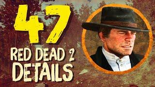 47 Impressive Red Dead 2 Details