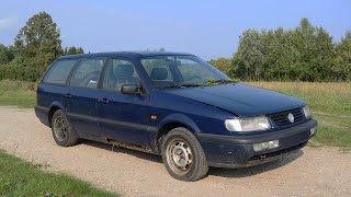1994 Volkswagen Passat B4 1.9TDI Test Drive After 15 Years видео