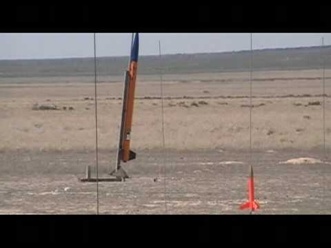 BYU ASME May Rocket Launch