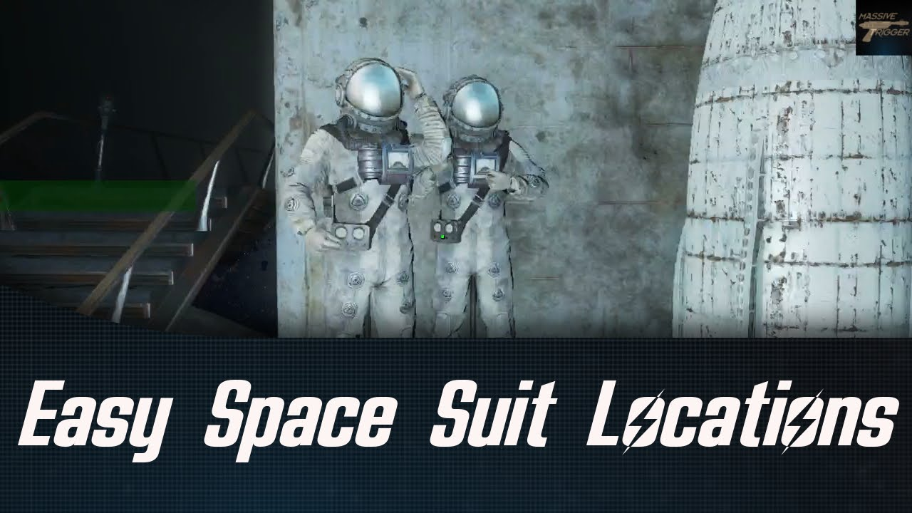 Fallout 4 Nuka World Easy Space Suit Locations - YouTube