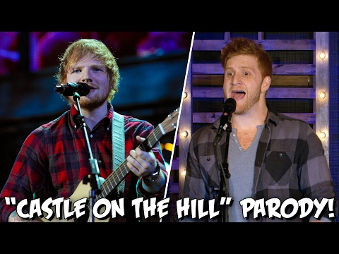 "Ed Sheeran ""Castle On The Hill"" PARODY! The Key of Awesome UNPLUGGED"