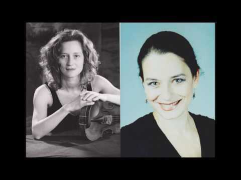 Luminitza Petre-Violine ,Olga Bolocan-Töppel Klavier Johannes Brahms Sonata Nr.3 in d-moll op.108