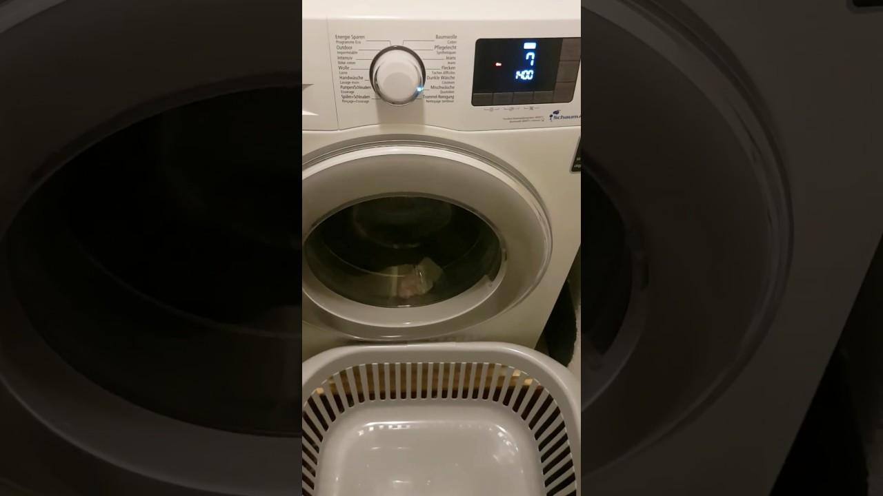 Berühmt Samsung Waschmaschine Knackt und Rattert weiss jemand was es sein QS95