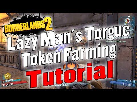 Borderlands 2 | Lazy Man's Torgue Token Farming | Tutorial