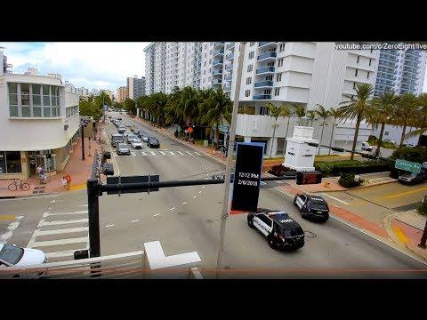 Live HD Webcam: South Beach, Miami Beach.