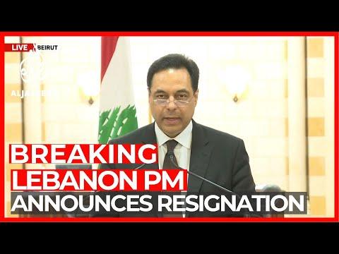 Lebanon PM announces resignation amid turmoil