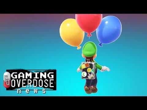 Download Youtube: Super Mario Odyssey: Luigi's Balloon World Add-On is Coming
