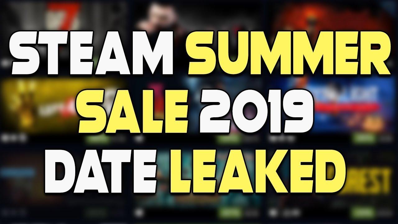 When does the Steam Summer Sale 2019 start?