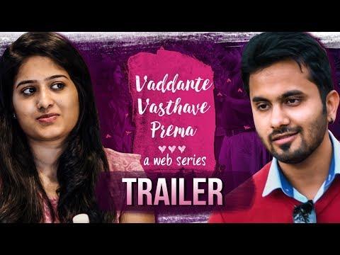 Vaddante Vasthave Prema Web Series Trailer   Wirally Originals