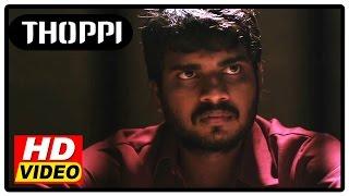 Thoppi Tamil Movie   Scenes   Police arrested Murali Ram   Rakshaya Raj