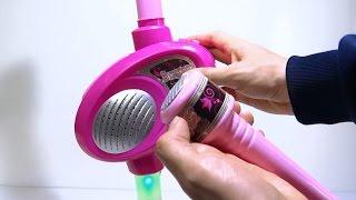 Karaoke Microfono Musical Juguete Para Niñas Cantantes Luces y Aplausos