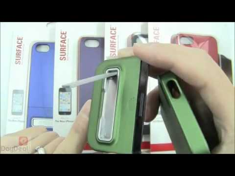 iPhone 5 Case Review: Seidio CSR3IPH5K-BK Surface Case with Metal Kickstand