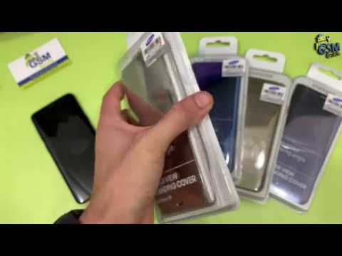 cheaper ef68e c15a5 Official Samsung Galaxy S9 / S9 Plus Clear View Cover Unboxing Review