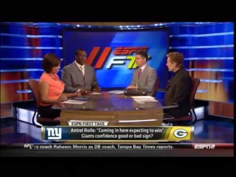 First Take - Divisional Round: New York vs. GB
