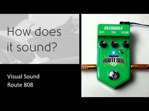 Visual Sound Route 808 - How does it sound?