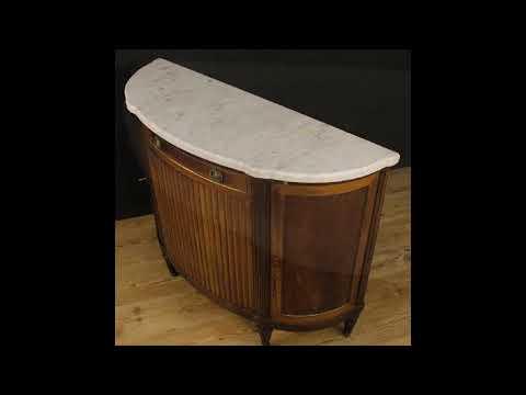 Credenza Con Piano In Marmo : Credenza francese con piano in marmo stile luigi xvi youtube