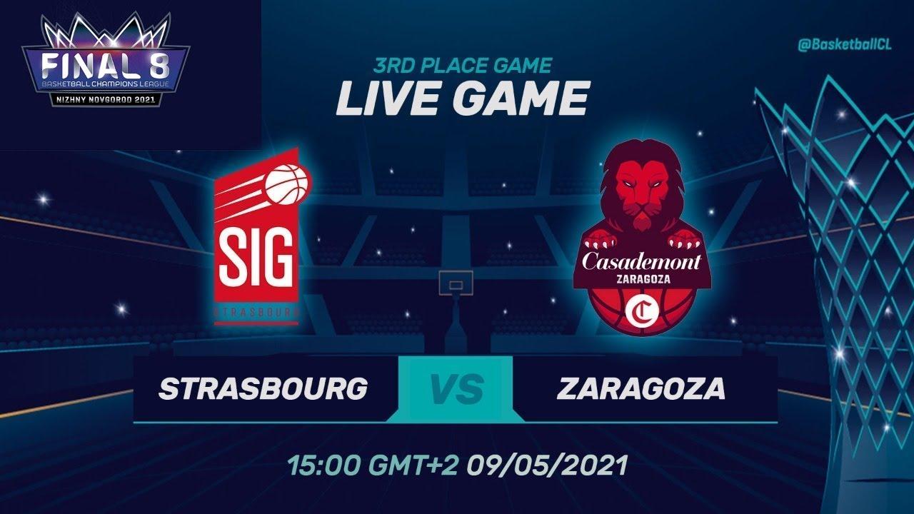 3RD PLACE: SIG Strasbourg v Casademont Zaragoza - Full Game