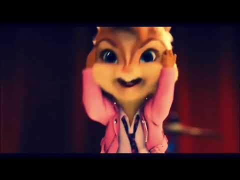 Alvin e os esquilos cantando Wesley Safadão e Anitta Romance com Safadeza