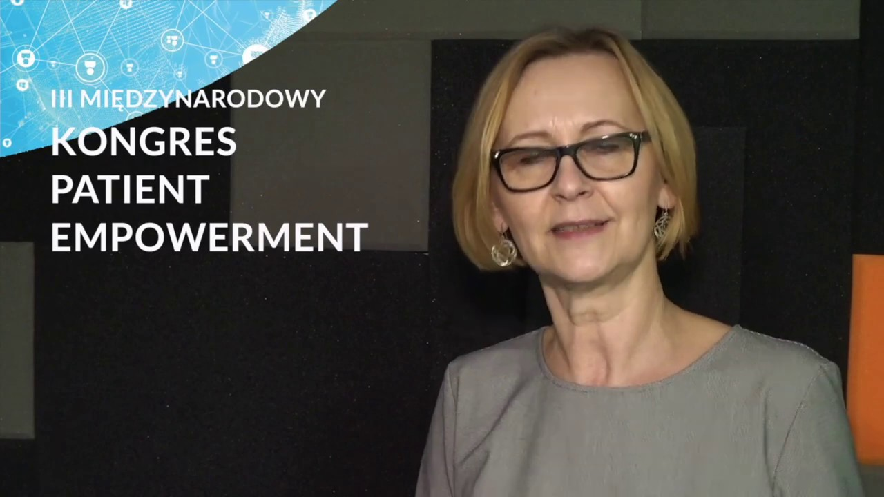 Anna Kupiecka zaprasza na Kongres Patient Empowerment
