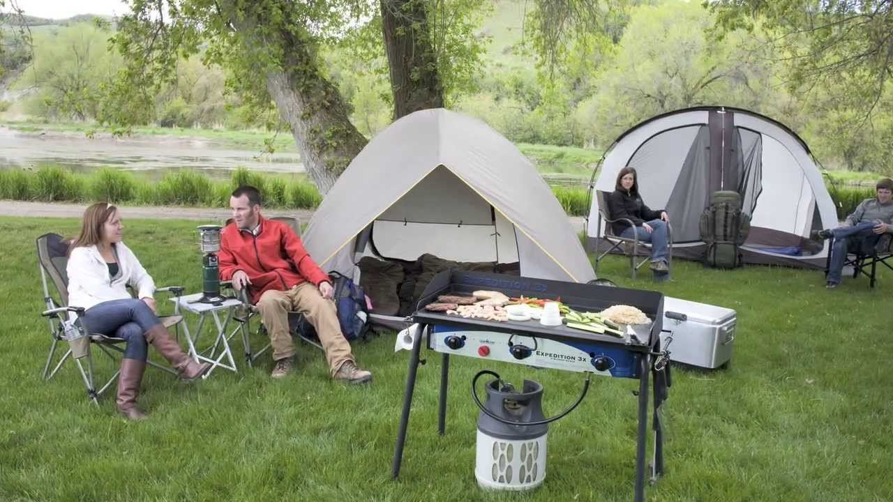 Denali Camp Stove Camp Chef Expedition 3x Stove
